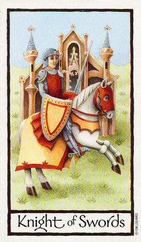 Tarot Guidance for Tuesday 21 February 2017: Knight of