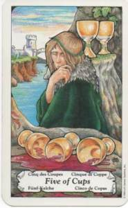 5 of cups