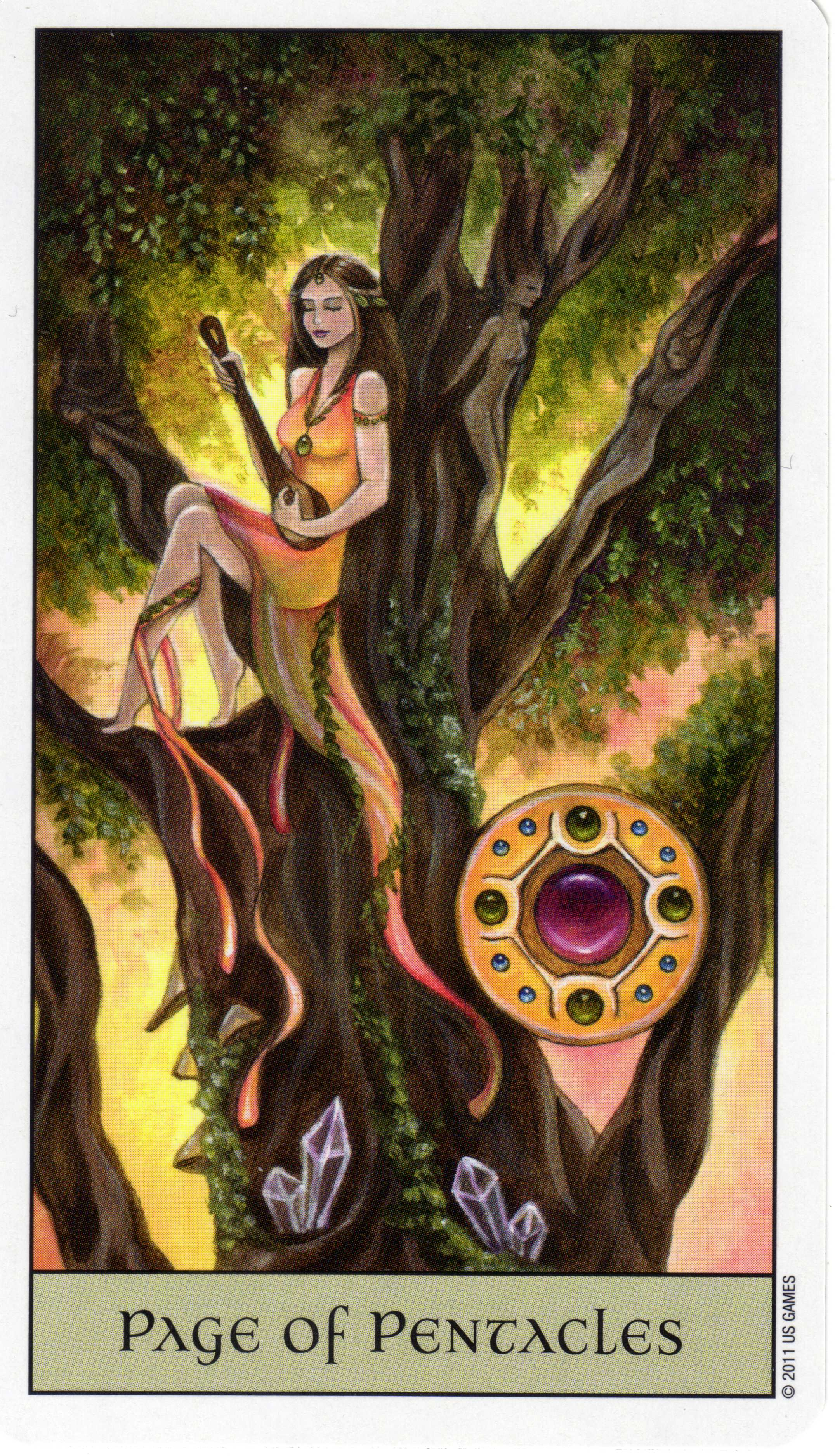 Tarot Guidance for Sunday 9 April 2017: Page of Pentacles