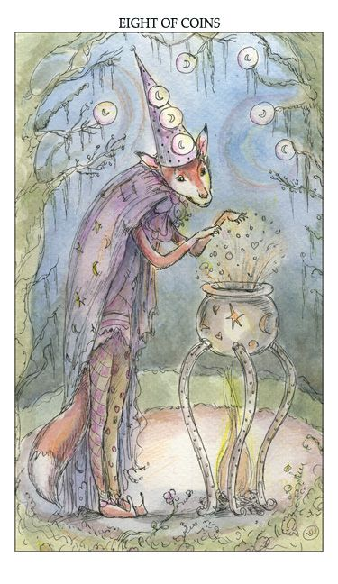 Tarot Guidance for Saturday 24 February 2018: 8 of Pentacles